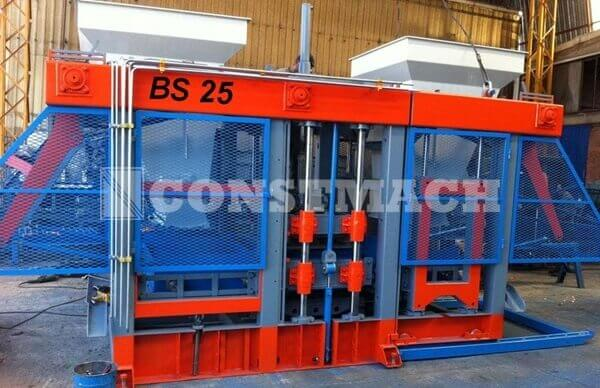 BS-25 | Concrete Block Brick Making Machine