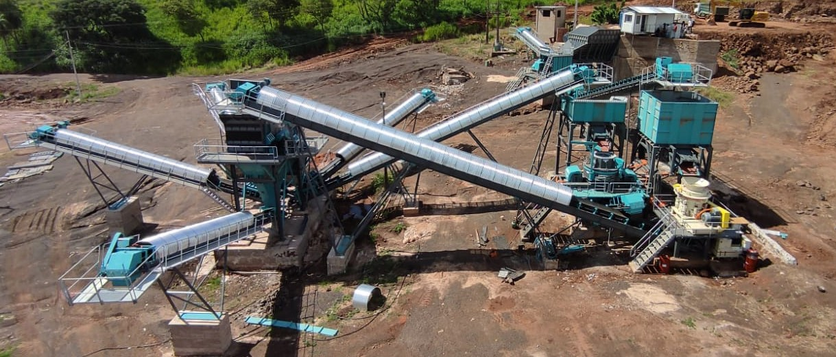 Stationary Stone Crushing and Screening Plants