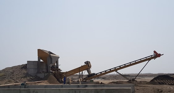 SULTANATE OF OMAN  |  120 tph Sand Washing Plant Screw Washer