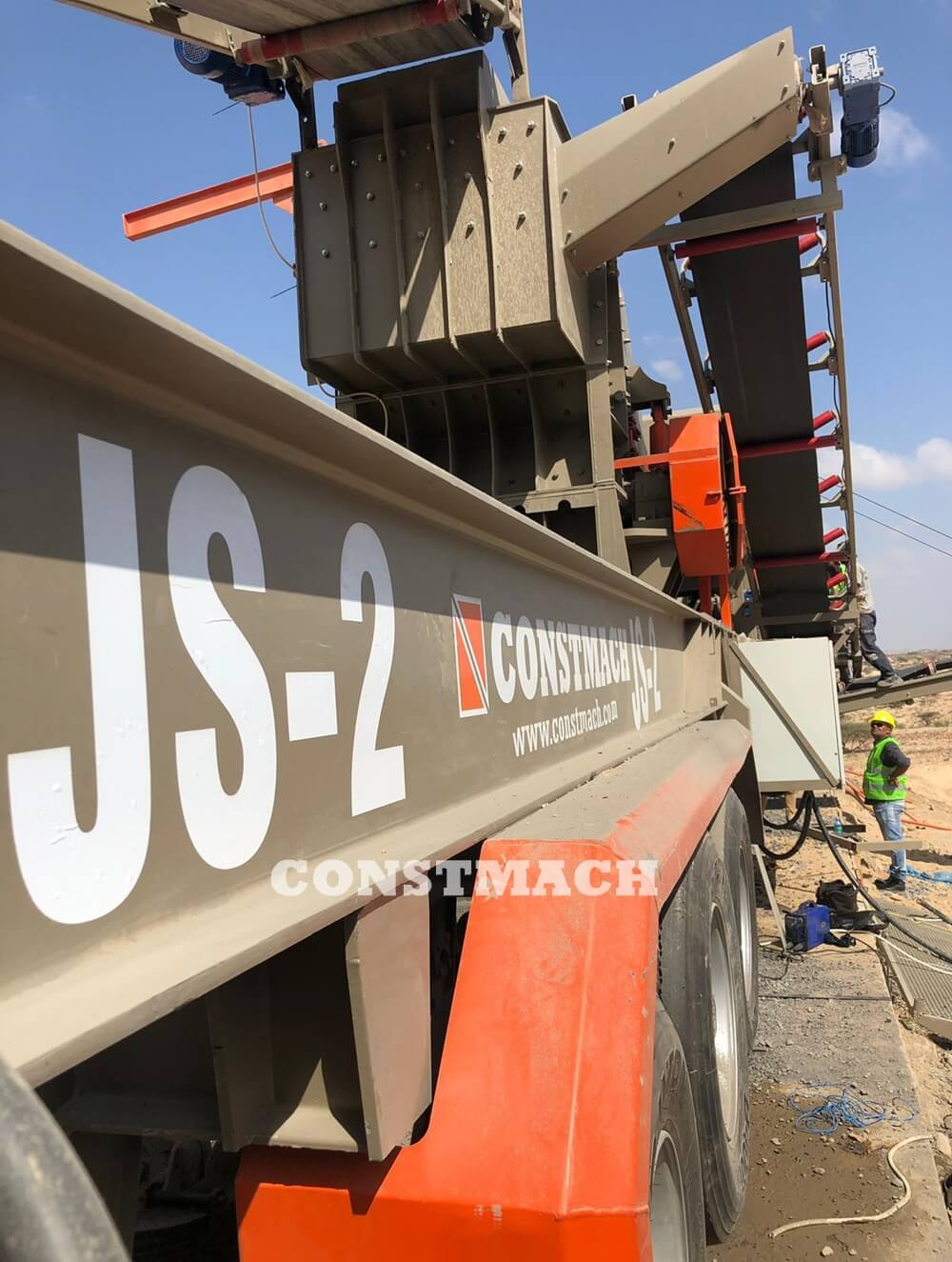 Mobile Jaw And Impact Crushers - JS-3