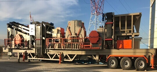 JT-1 Mobile Crushing Plant