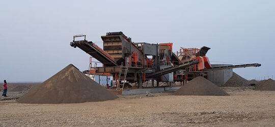 S-2 Mobile Crushing Plant