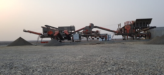 JS-3 Mobile Crushing Plant