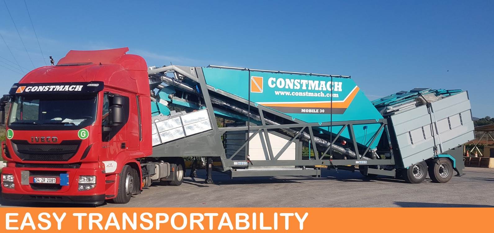 Mobile Concrete Plant - Mobile 30