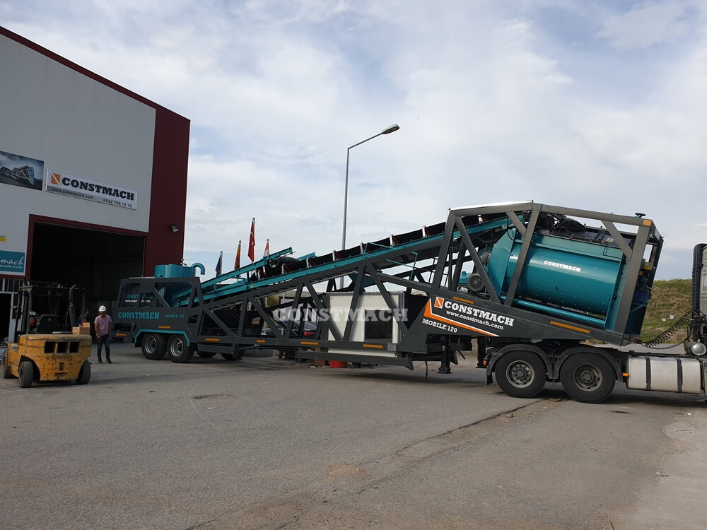 Mobile Concrete Plant - Mobile 120