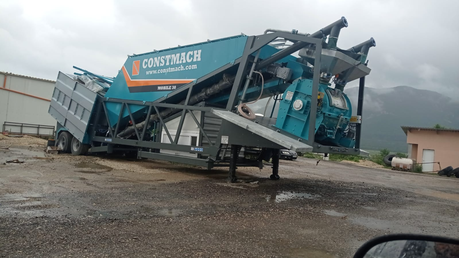 portable batching plant concrete