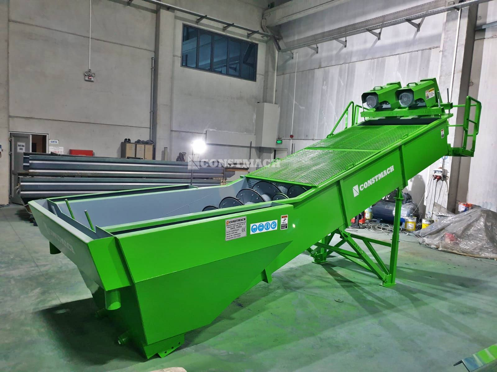 high efficiency twin screw spiral sand washer on sale