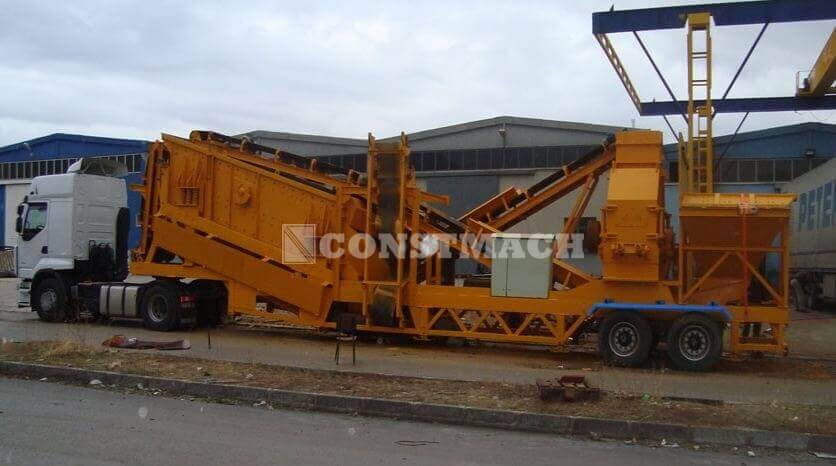 T-120 Mobile Sand Making Plants