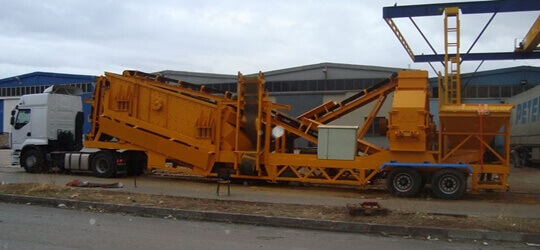 T-150 Mobile Sand Making Plant