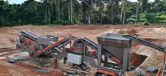 V-70 Mobile Sand Making Plant