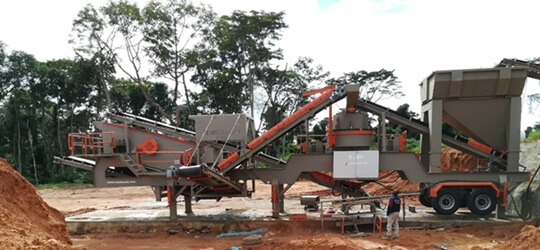 V-80 Mobile Sand Making Plant