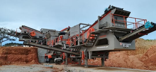 V-90 Mobile Sand Making Plant
